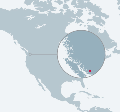 Albion Reservoir location map