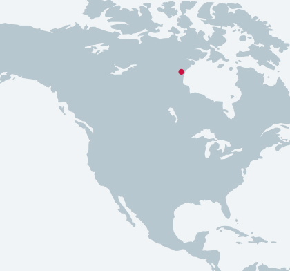 Arviat Power Station Expansion location map