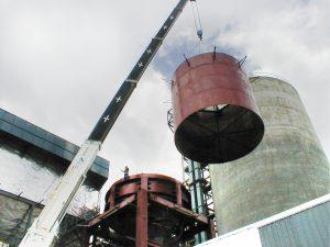 Cementos Colon Cement Silo