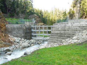 Fitzsimmon's Creek Debris Barrier