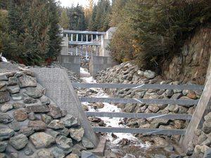 Whistler Creek Debris Barrier