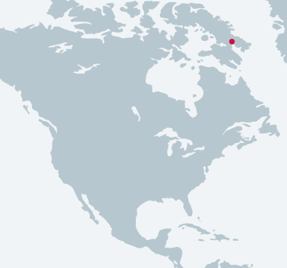 Iqaluit Main Power Station location map