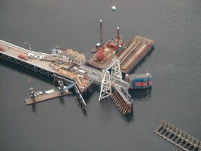 New Sturdies Bay Ferry Terminal