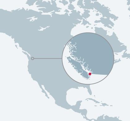 New Sturdies Bay Ferry Terminal location map