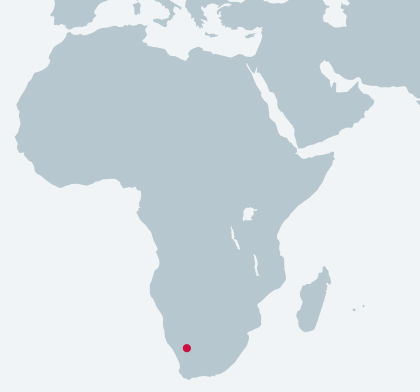 Cheetah Cement: Walvis Bay Cement Processing Plant location map